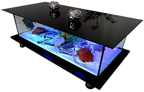 Table Basse Alain Floch Aquarium Vitrine Etanche Design VITR